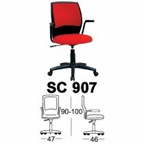 Kursi Sekretaris Chairman Type SC 907
